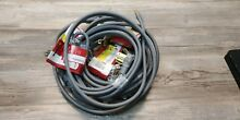 Smart Choice 50 Amp 6  4 Prong Wire Range Dryer Cord CONTRACTOR PACK LOT of 5