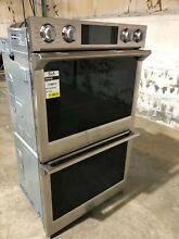 Samsung 30  Stainless Double Electric Wall Oven Nob  NV51K7770DS