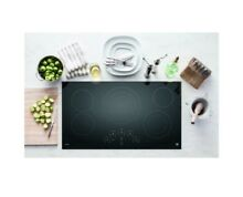 GE Profile  Series 36  PP9036DJBB Built in Touch Control electric cooktop
