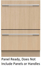Fisher   Paykel DD24DHTI9N Panel Ready Fully Integrated Double DishDrawer