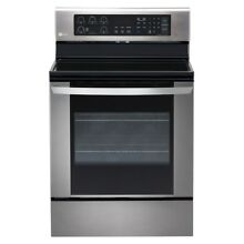 New LG 6 3 cu ft  Electric Range w EasyClean Convection Oven in Stainless Steel