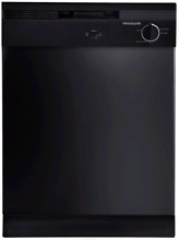 Frigidaire FBD2400KB Full Console Dishwasher 12 Place Setting Capacity in Black