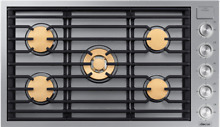 Dacor DTG36M955FS Modernist 36   Gas Cooktop Stainless Steel w 5 Sealed Burners