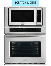 Frigidaire Gallery 30  Stainless Electric Built In Convection Oven Microwave