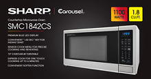 Sharp SMC1842CS Countertop Microwave Oven 1 8 cu ft  WHILE SUPPLIES LAST