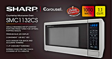 Sharp SMC1132CS Countertop Microwave Oven 1 1 cu ft  WHILE SUPPLIES LAST