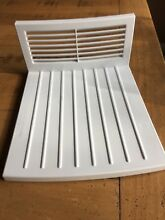 GE REFRIGERATOR GSS22JEMDWW Top shelf w  Grate EUC Genuine OEM Gently used parts