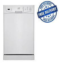 Dishwasher Sunpentown Energy Star 18  Built In Portable Kitchen Gadget White