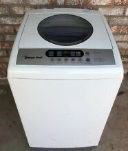 Magic Chef 1 6 cu  ft  Compact Top Load Washer in White with Stainless Steel Tub