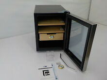 Whynter CHC 122BD   Elite Touch Control Stainless Cigar Cooler  Black Humidor