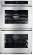 Dacor RNO230PS  Renaissance 30  Double Wall Oven in Stainless Steel 4 8 cu  ft