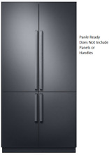Dacor DRF427500AP Modernist 42 Inch French Door Refrigerator Panel Ready