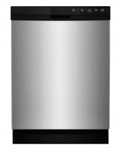 CROSLEY 24  Dishwasher 5 Cycle E  Stainless Steel CDBEH600SS