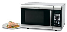 Cuisinart CMW 100 1 Cubic Foot Stainless Steel Microwave Oven  New