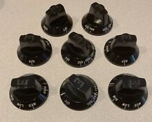 WOLF  CLASSIC  BLACK KNOB KIT  800428 FOR RANGES  see pics