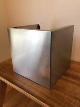 Vent A Hood WDC 10 10 SS Duct Cover Stainless Steel Model   WDC1010ss