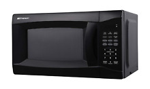 Emerson 0 7 CU  FT  700 Watt  Touch Control  Black Microwave Oven  MW7302B