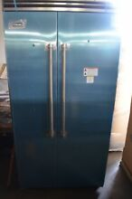 Viking Pro 5 Series 42  Stainless Steel Side by Side Refrigerator VCSB5423SS