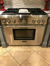 Thermador Pro Harmony Professional Series PRG364GDH 36 Inch Pro Style Gas Range
