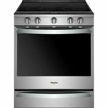 Whirlpool 30  Stainless Steel Slide In Electric Range WEE750H0HZ