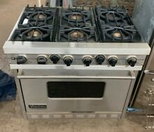 Viking professional range gas 36  x 28  Metal