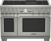 48  Thermador Pro Style Gas Convection Range Model   PRG486JDG