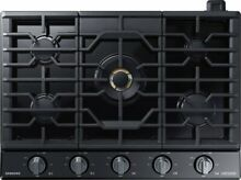 Samsung Chef Collection NA36M9750TM 36  Gas Cooktop   Black Stainless Steel