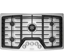 ELECTROLUX 36  Gas 5 Burner Cooktop w Min 2 Max Dual Flame Burner EW36GC55PS NEW