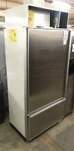 Sub Zero 550 Stainless Commercial Built in Refrigerator