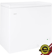 Chest Freezer Storage 7 1cu ft  Manual Defrost  Food Compact Home Business White