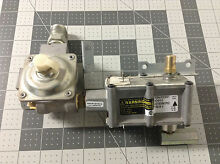GE Range Oven Valve and Pressure Regulator WB19K10051 WB19K10014