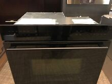 SO30CEBTH WOLF E SERIES  30  BLACK WALL OVEN  DISPLAY MODEL