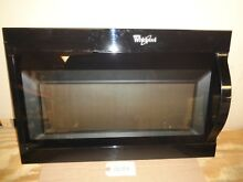 Whirlpool Microwave Complete Door  W10889332 with Handle  WMH31017FB   SD758