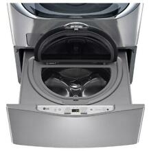LG WD200CV SideKick Pedestal Washer with TWINWash System Compatibility in Graphi