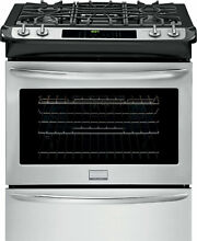 Frigidaire FGGS3065PF 30 Inch Stainless Steel Slide in Gas Convection Range