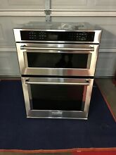 30  KitchenAid Stainless Built in Electric Wall Oven Combo Model   KOCE500ESS
