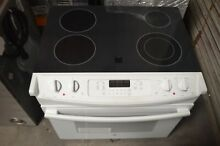 GE 30  White Drop In Electric Range JD630DFWW