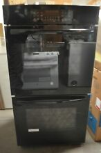 GE 27  Black Double Electric Wall Oven JK3500DFBB