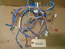 Kitchenaid Microwave Oven Wiring Harness  W10834332    BD023