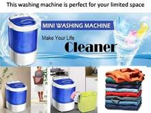 Mini Compact Portable Washing Machine Laundry Washer Semi Automatic 7lbs