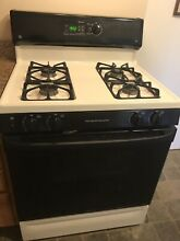 Stove Gas GE Self Cleaning   Range Hood