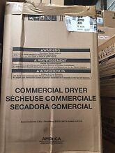 CED8990XW Whirlpool Commercial Laundry 27 Inch Commercial Electric Dryer