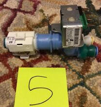 RobertShaw Dual Water Icemaker Smart Valve Ice Maker 120V K 76675 9005238