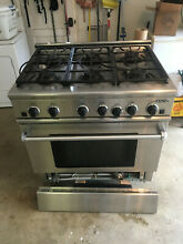 DCS 36  Stainless Steel 6 Burner LP Gas Range RGS 366