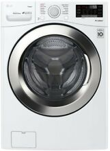 LG Washer   Dryer Set White 4 5 cu ft  Large Capacity Stackable or side by side