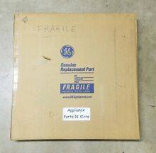 GE DISHWASHER WHITE LONG FRONT PANEL PART  WD31X10025 FREE SHIPPING  NEW PART