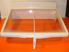 FRIGIDAIRE SXS REFRIDGERATOR SPILL SAFE AJUSTABLE SHELF 240424615  240424607