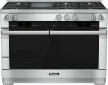 Miele M Touch Series HR1956DFGD 48 Inch Pro Style Dual Fuel Range FREE SHIPPING