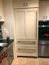 Sub Zero IT36CILH 36 Inch Panel Ready Built In Bottom Freezer Refrigerator