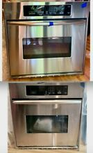 27  Kitchen Aid Double Wall Oven w Convection Fingerprint Resist Stainless Steel